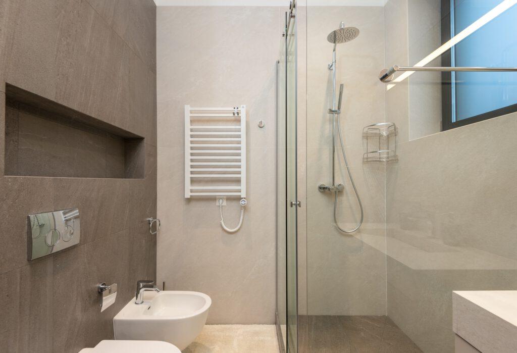 badkamer douchebak